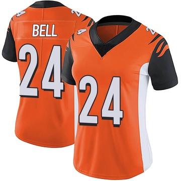 Women's Nike Cincinnati Bengals Vonn Bell Orange Vapor Untouchable Jersey - Limited