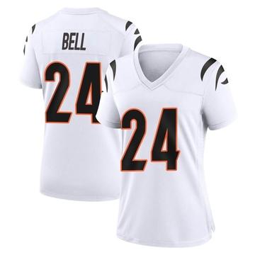 Women's Nike Cincinnati Bengals Vonn Bell White Jersey - Game