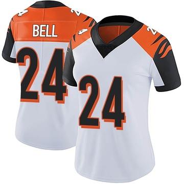 Women's Nike Cincinnati Bengals Vonn Bell White Vapor Untouchable Jersey - Limited