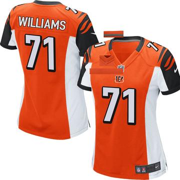 Women's Nike Cincinnati Bengals Xavier Williams Orange Jersey - Game