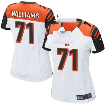 Women's Nike Cincinnati Bengals Xavier Williams White Jersey - Game