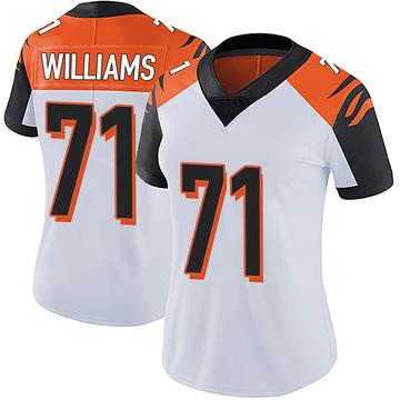 Women's Nike Cincinnati Bengals Xavier Williams White Vapor Untouchable Jersey - Limited