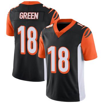 Youth Nike Cincinnati Bengals A.J. Green Black 100th Vapor Jersey - Limited
