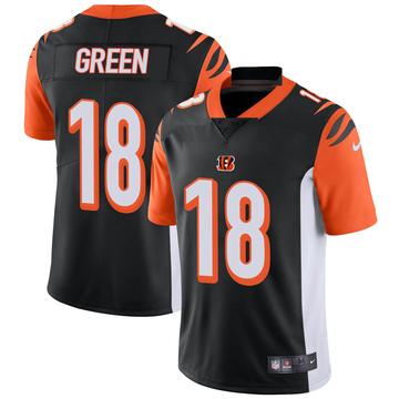 Youth Nike Cincinnati Bengals A.J. Green Black Team Color Vapor Untouchable Jersey - Limited