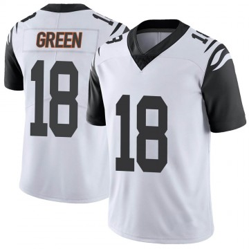 Youth Nike Cincinnati Bengals A.J. Green White Color Rush Vapor Untouchable Jersey - Limited