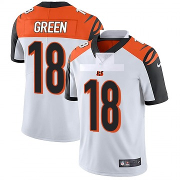 Youth Nike Cincinnati Bengals A.J. Green White Vapor Untouchable Jersey - Limited