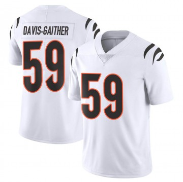 Youth Nike Cincinnati Bengals Akeem Davis-Gaither White Vapor Untouchable Jersey - Limited