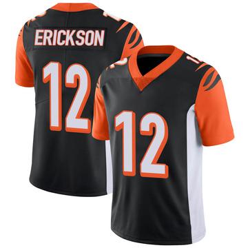 Youth Nike Cincinnati Bengals Alex Erickson Black 100th Vapor Jersey - Limited