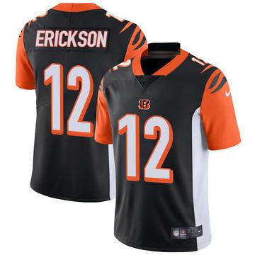 Youth Nike Cincinnati Bengals Alex Erickson Black Team Color Vapor Untouchable Jersey - Limited