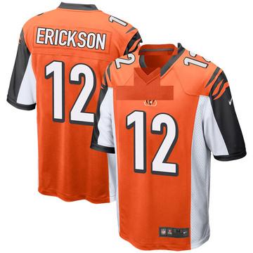 Youth Nike Cincinnati Bengals Alex Erickson Orange Jersey - Game