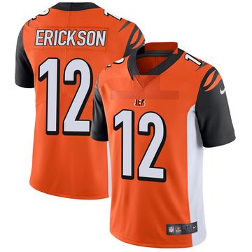 Youth Nike Cincinnati Bengals Alex Erickson Orange Vapor Untouchable Jersey - Limited