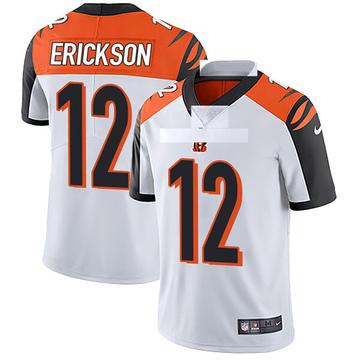 Youth Nike Cincinnati Bengals Alex Erickson White Vapor Untouchable Jersey - Limited
