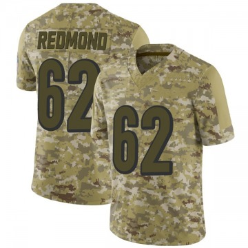 Youth Nike Cincinnati Bengals Alex Redmond Red Camo 2018 Salute to Service Jersey - Limited