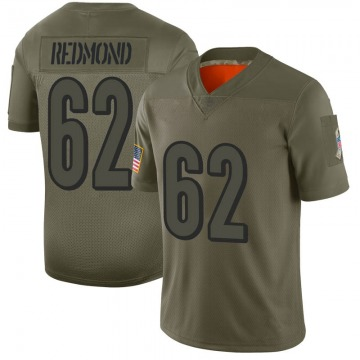 Youth Nike Cincinnati Bengals Alex Redmond Red Camo 2019 Salute to Service Jersey - Limited