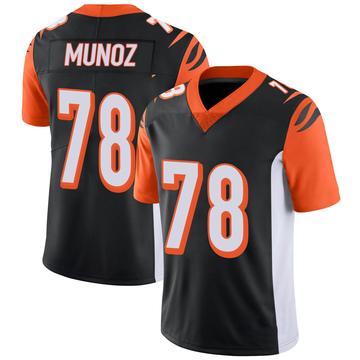 Youth Nike Cincinnati Bengals Anthony Munoz Black 100th Vapor Jersey - Limited