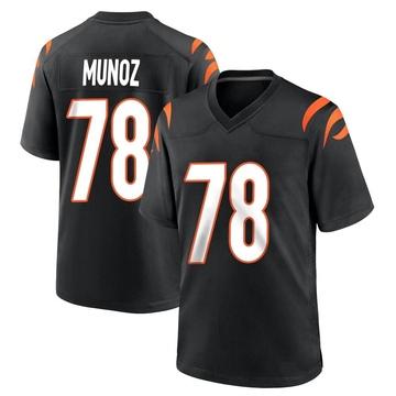 Youth Nike Cincinnati Bengals Anthony Munoz Black Team Color Jersey - Game