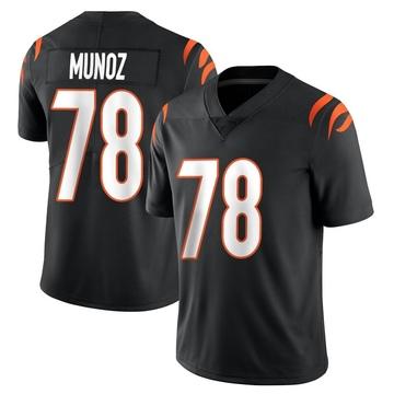 Youth Nike Cincinnati Bengals Anthony Munoz Black Team Color Vapor Untouchable Jersey - Limited