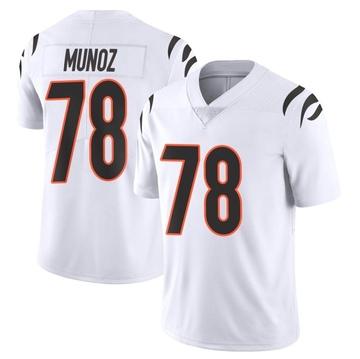 Youth Nike Cincinnati Bengals Anthony Munoz White Vapor Untouchable Jersey - Limited