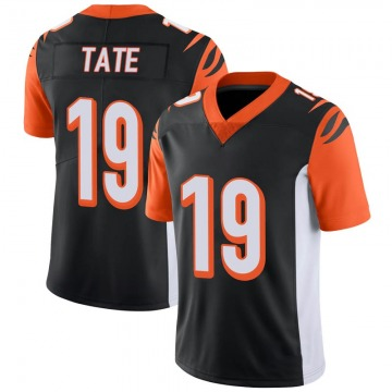 Youth Nike Cincinnati Bengals Auden Tate Black 100th Vapor Jersey - Limited