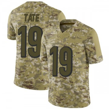 Youth Nike Cincinnati Bengals Auden Tate Camo 2018 Salute to Service Jersey - Limited
