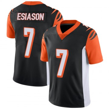Youth Nike Cincinnati Bengals Boomer Esiason Black 100th Vapor Jersey - Limited