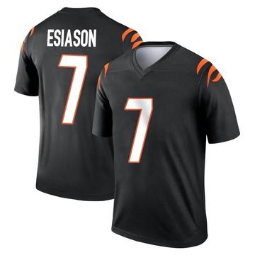 Youth Nike Cincinnati Bengals Boomer Esiason Black Jersey - Legend