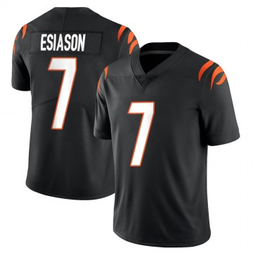 Youth Nike Cincinnati Bengals Boomer Esiason Black Team Color Vapor Untouchable Jersey - Limited