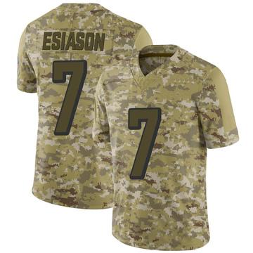 Youth Nike Cincinnati Bengals Boomer Esiason Camo 2018 Salute to Service Jersey - Limited