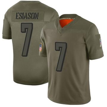 Youth Nike Cincinnati Bengals Boomer Esiason Camo 2019 Salute to Service Jersey - Limited