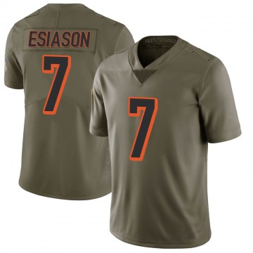 Youth Nike Cincinnati Bengals Boomer Esiason Green 2017 Salute to Service Jersey - Limited