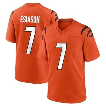 Youth Nike Cincinnati Bengals Boomer Esiason Orange Jersey - Game