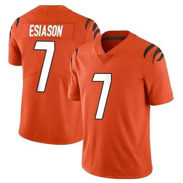 Youth Nike Cincinnati Bengals Boomer Esiason Orange Vapor Untouchable Jersey - Limited