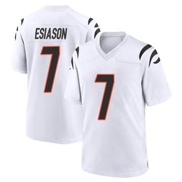 Youth Nike Cincinnati Bengals Boomer Esiason White Jersey - Game