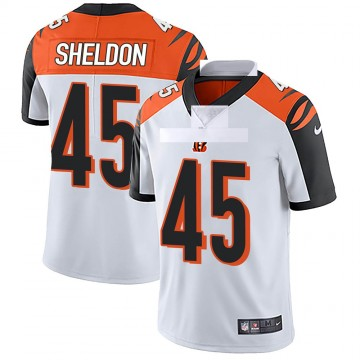 Youth Nike Cincinnati Bengals Brady Sheldon White Vapor Untouchable Jersey - Limited