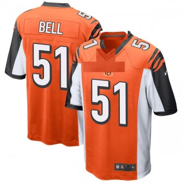 Youth Nike Cincinnati Bengals Brandon Bell Orange Jersey - Game