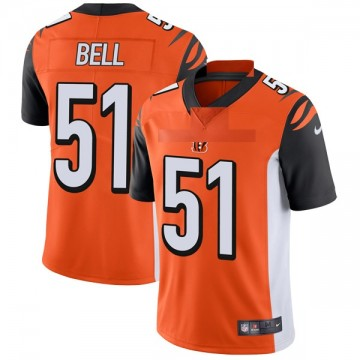 Youth Nike Cincinnati Bengals Brandon Bell Orange Vapor Untouchable Jersey - Limited