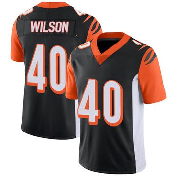 Youth Nike Cincinnati Bengals Brandon Wilson Black 100th Vapor Jersey - Limited