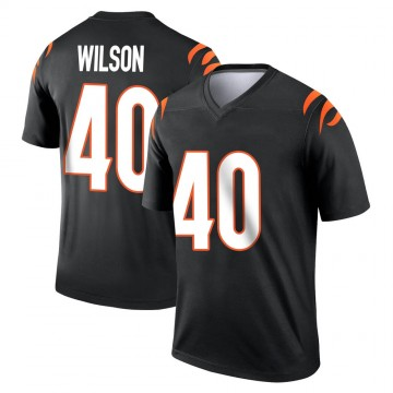 Youth Nike Cincinnati Bengals Brandon Wilson Black Jersey - Legend