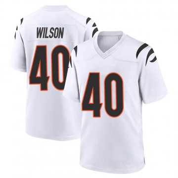 Youth Nike Cincinnati Bengals Brandon Wilson White Jersey - Game