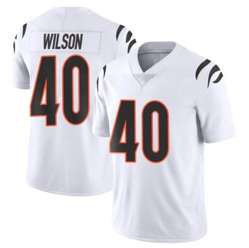 Youth Nike Cincinnati Bengals Brandon Wilson White Vapor Untouchable Jersey - Limited