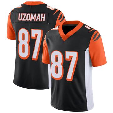 Youth Nike Cincinnati Bengals C.J. Uzomah Black 100th Vapor Jersey - Limited