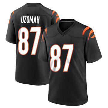 Youth Nike Cincinnati Bengals C.J. Uzomah Black Team Color Jersey - Game