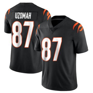 Youth Nike Cincinnati Bengals C.J. Uzomah Black Team Color Vapor Untouchable Jersey - Limited