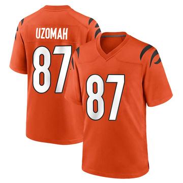 Youth Nike Cincinnati Bengals C.J. Uzomah Orange Jersey - Game
