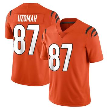 Youth Nike Cincinnati Bengals C.J. Uzomah Orange Vapor Untouchable Jersey - Limited