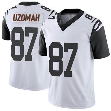 Youth Nike Cincinnati Bengals C.J. Uzomah White Color Rush Vapor Untouchable Jersey - Limited