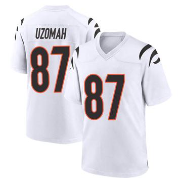 Youth Nike Cincinnati Bengals C.J. Uzomah White Jersey - Game