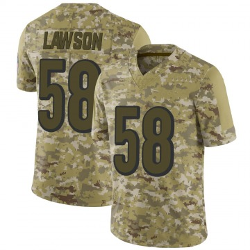 Youth Nike Cincinnati Bengals Carl Lawson Camo 2018 Salute to Service Jersey - Limited