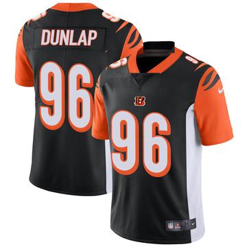 Youth Nike Cincinnati Bengals Carlos Dunlap Black Team Color Vapor Untouchable Jersey - Limited