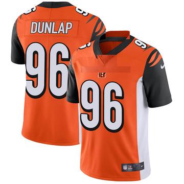 Youth Nike Cincinnati Bengals Carlos Dunlap Orange Vapor Untouchable Jersey - Limited